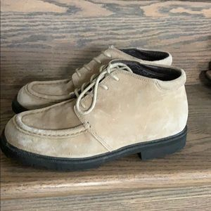 Lands End genuine leather ankle boots. EUC